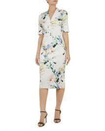 Ted Baker Lylli Elegant-Print Dress Women - Bloomingdale s at Bloomingdales