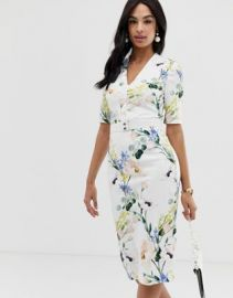 Ted Baker Lylli elegance midi dress   ASOS at Asos