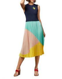 Ted Baker Ophelea Sleeveless Color-Block Dress   Women - Bloomingdale s at Bloomingdales