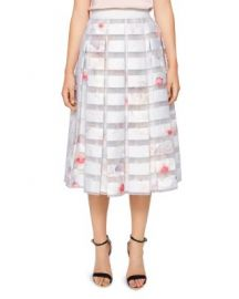 Ted Baker Rosaley Chelsea Print Pleated Skirt at Bloomingdales