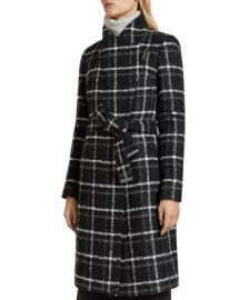 Ted Baker Rosylin Belted Check Coat Women - Bloomingdale s at Bloomingdales