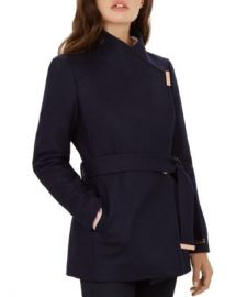 Ted Baker Rytaa Short Wrap Coat Women - Bloomingdale s at Bloomingdales