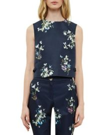 Ted Baker Samsa Entangled Enchantment Crop Top at Bloomingdales