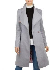 Ted Baker Sandra Long Wrap Coat Women - Bloomingdale s at Bloomingdales