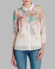 Ted Baker Shirt - Wispy Meadow Print at Bloomingdales