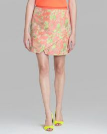 Ted Baker Skirt - Keleche Floral Jacquard Wrap at Bloomingdales