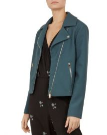 Ted Baker Ted Baker Colour by Numbers Nisah Biker Jacket Women - Bloomingdale s at Bloomingdales