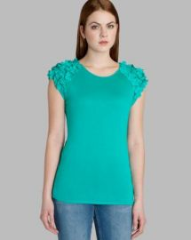 Ted Baker Tee - Anissa Floral Applique at Bloomingdales