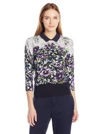 Ted Baker Women s Ibele Entangled Enchantment Jumper at Amazon