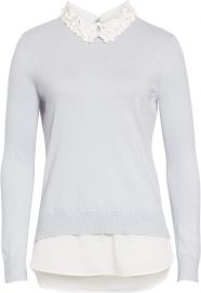 Ted Baker Women s Natsha Collar Detail Sweater at Amazon