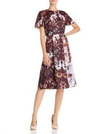 Ted Baker Yaela Amethyst Color-Blocked Floral Dress - 100  Exclusive Women - Bloomingdale s at Bloomingdales