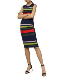 Ted Baker Ysina Striped Bodycon Dress Women - Bloomingdale s at Bloomingdales
