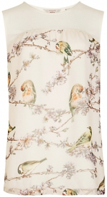 Ted Baker bird print top at Ted Baker