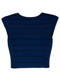 Ted baker Salsah Ottoman Knitted Crop Top at Ted Baker