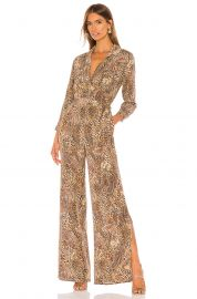 Teddy 3/4 Sleeve Jumpsuit at Revolve