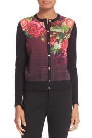Teeah Juxtapose Rose Cardigan at Neiman Marcus
