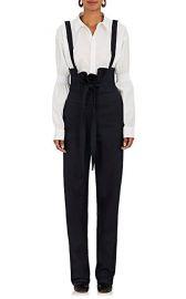 Teija Stretch-Cotton High-Waist Suspender Pants at Barneys