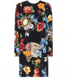 Telephone Floral Dress by Dolce & Gabbana at My Theresa