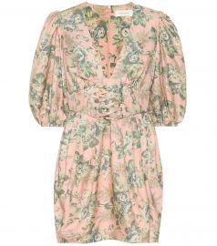 Tempest floral silk dress at Mytheresa