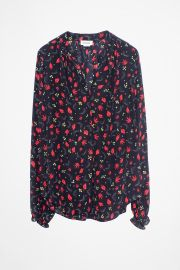 Tender Print Shirt at Zadig & Voltaire