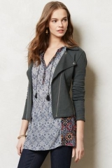 Terry Moto Jacket at Anthropologie