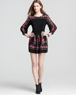 Tessas Free People dress at Bloomingdales