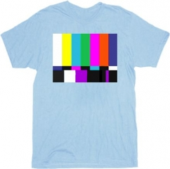 Test Pattern Tee at TV Store Online