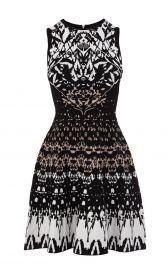 Texture Knit Dress at Karen Millen