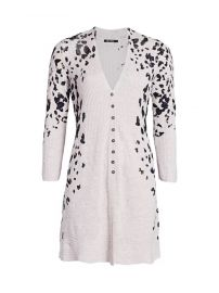 Textured Animal-Print Cardigan by Nic and Zoe at Saks Fifth Avenue