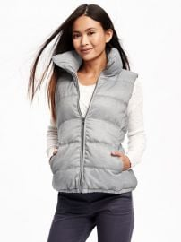 Textured Frost Free Vest at Old Navy