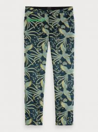 Textured Jacquard Trousers  at Scotch and Soda
