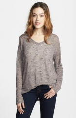 Textured sweater by Allen Allen at Nordstrom