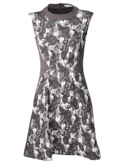 Thakoon Addition Brocade Print Dress - Hampden at Farfetch
