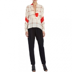 Thakoon Addition Geometric Peplum Top at Barneys
