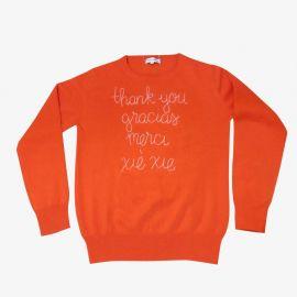 Thank You Sweater by Lingua Franca at Lingua Franca