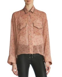 The Kooples Candy Floral Print Shirt at Bloomingdales