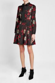 The Kooples Embroidered and Printed Dress at Stylebop