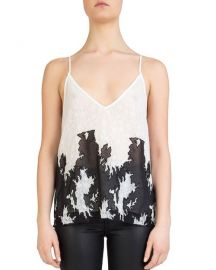 The Kooples Mesh-Inset Lace Cami at Bloomingdales
