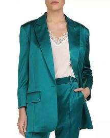 The Kooples Satin Blazer Women - Bloomingdale s at Bloomingdales