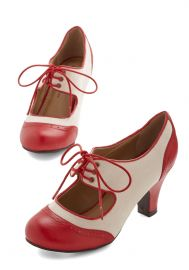 The Best of Times Heel in Red at ModCloth