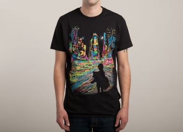 The City that Never Sleeps tee at Threadless