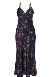 The Colleen Floral-Print Midi Slip Dress by Cami NYC at The Outnet