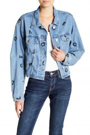 The Collin Cropped Denim Jacket at Nordstrom Rack