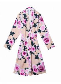 The Coveteur Long Sleeve Robe by Fleur Du Mal at Fleur Du Mal