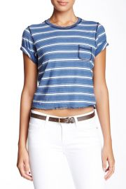 The Cropped Crew Neck Tee at Nordstrom Rack