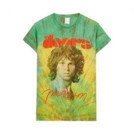 The Doors Morrison tie-dye cotton T-shirt at Harvey Nichols