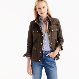 The Downtown Field Jacket in mossy brown at J. Crew