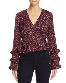 The Fifth Label Archer Floral Print Wrap Top  Women - Bloomingdale s at Bloomingdales