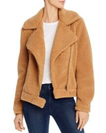 The Fifth Label Herd Moto-Inspired Teddy Jacket Women - Bloomingdale s at Bloomingdales