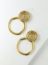 The Gianni Earrings at Vanessa Mooney